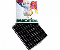 MADEIRA Unterfaden Bobbins No 150 20x schwarz