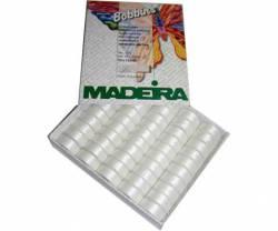 MADEIRA Unterfaden Bobbins No 150 20 x  weiß