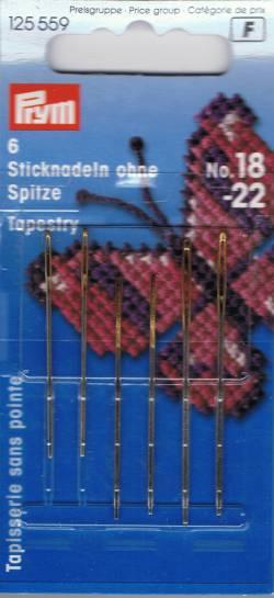 Sticknadeln No 18-22 Tapestry ohne Spitze von PRYM