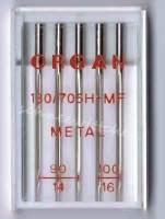 ORGAN Nähmaschinennadeln für Metallic Stickgarne
