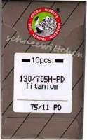 Nähmaschinennadeln Titanium 75/11 PD