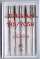 Nähmaschinennadel für Jeans Stärke 90