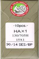 Nähmaschinen- und Sticknadeln Stretch 90/14 SES BP