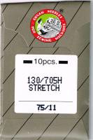 Nähmaschinen- und Sticknadeln Stretch 75/11 Stretch