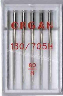 Nähmaschinennadeln Standard 60 Box à 5 Nadeln