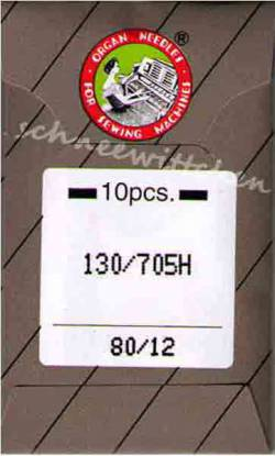 Nähmaschinennadeln Standard 80/12 Brief à 10 Nadeln