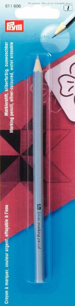 Markierstift silberfarbig für Patchwork und Nähen