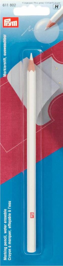 PRYM Markierstift auswaschbar weiß, Zubehör Patchwork und Nähen