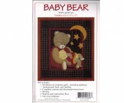 Quiltpackung von Rachels of Greenfield Wandbehang Baby Bear