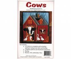 Quiltpackung von Rachels of Greenfield Wandbehang Cows