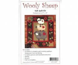 Quiltpackung von Rachels of Greenfield Wandbehang Wooly Sheep