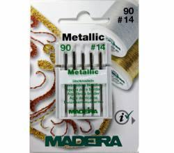 MADEIRA Maschinennadeln Metallic