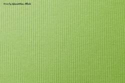 Grobstrick Rippbündchen apfelgrün