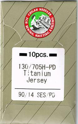 Nähmaschinennadeln  Organ Titanium Nadeln 90/14 SES PD