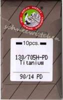 Nähmaschinennadeln Titanium Nadeln 90/14 PD