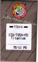 Nähmaschinennadeln Organ Titanium 75/11 PD