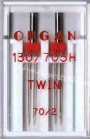 Nähmaschinennadeln Zwillingsnadeln 2x 70/2,0