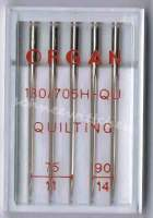 Nähmaschinennadeln  Quilting 75/90 für Patchwork und Quilten