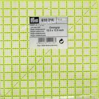 Anti-Rutsch Patchworklineal  12 1/2 x 12 1/2 Inch (PRYM 610216)