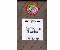Nähmaschinennadeln Titanium Nadeln 80/12 PD