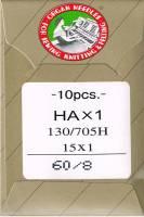 Nähmaschinennadeln Standard 60/8 Brief à 10 Nadeln