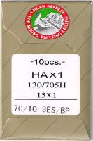 Nähmaschinen- und Sticknadeln 70/10 SES/BP