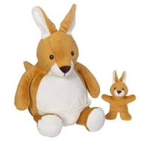 Embroider Buddy®  Kangaroo mit Baby 40 cm