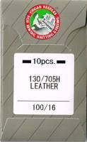Nähmaschinennadeln Leder 100/16  Brief à 10 Nadeln