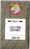 Nähmaschinennadeln Leder 120/19  Brief à 10 Nadeln